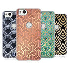 HEAD CASE DESIGNS TEXTURED ART DECO PATTERNS SOFT GEL CASE FOR GOOGLE PIXEL 2