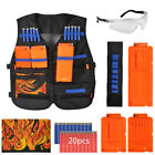 Tactical Vest Suit Children Bullet Kits For Nerf N-Strike Elite Series Kids Gun