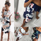 New Womens Bodycon Bandage Evening Party Dress Ladies Formal Wedding Lace Dress