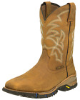 "Tony Lama Men's Steel Toe 11"" Roustabout Work Boot - Wheat"