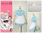 Blend・S Kaho Hinata Apron Dress Skirt Maid Servant  Cosplay Costume Custom Adult