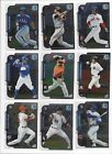 2015 BOWMAN CHROME BASE #'S 1-200   STARS, ROOKIE RC'S - WHO DO YOU NEED!!!