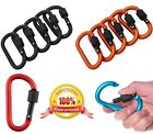 SNAP HOOK Carabiner Clips ~ 78mm Long ~ WEATHER PROOF ~ Secure Screw Locking