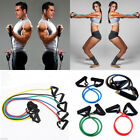 Resistance Bands Set Tubes for Fitness Home Gym Exercise Workout Yoga Fitness EC