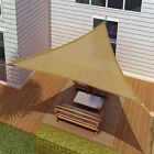 SUN SAIL SHADE - TRIANGLE CANOPY COVER-OUTDOOR PATIO AWNING-10' SIDES (10x10x10)