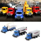 1:64 Alloy Cargo Car Diecast Model Kids Children Mini Truck Toy Vehicles Gift