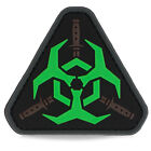 3D PVC Zombie Bio Warfare Daggers Tactical Military Army Morale Patch Badge