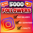1K - 10K Instagram Follow (FAST/QUICK AND RELIABLE!) 100% GUARANTEED