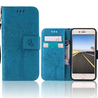 For Apple iPhone 5C Stand Cover Leather Hybrid Girly Protective Case Wallet Blue
