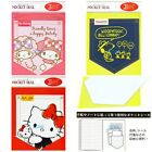 JAPAN MADE HELLO KITTY MY MELODY SNOOPY SMALL DATEBOOK POCKET SEAL
