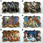 Colour Toy Story TNMT 3D Smashed Wall Art Sticker Decal Mural Transfer Graphic 3