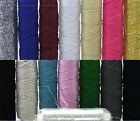 Shirring Elastic - Choice of Colours - Metallic - Knitting in Elastic