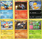LOT OF 6  POKEMON CARS 108 SERIES  (2012)