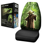New Black & Green Star Wars Yoda Single Car Truck Front Bucket Seat Cover $29.98 USD on eBay
