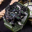 New Sanda Men Digital Wrist Watches LED Military Outdoor Sport Waterproof Watch