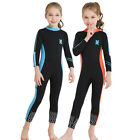 Girl's 2.5MM Neoprene Warm One-piece Swimwear Coverall Wetsuits Surfing Diving
