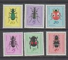 Germany East (DDR) 1411-1416 1968 Beetles MNH