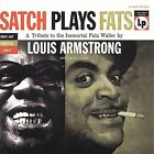 Satch Plays Fats: The Music of Fats Waller [Remaster] by Louis Armstrong (CD,...