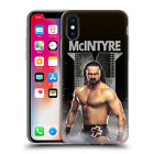 OFFICIAL WWE DREW MCINTYRE SOFT GEL CASE FOR APPLE iPHONE PHONES