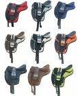 Treeless Freemax Synthetic Saddle English Saddle for horse tack all Sizes''