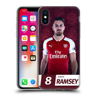OFFICIAL ARSENAL FC 2017/18 FIRST TEAM GROUP 2 GEL CASE FOR APPLE iPHONE PHONES