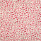 100% Cotton Poplin - Rose & Hubble Fabric - Ditsy Vintage Red Floral Material