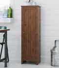 Storage Cabinet Kitchen Cupboard Bathroom Laundry Pantry Rustic Brown Wood New