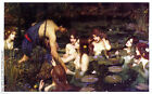 John William Waterhouse Hylas and the Nymphs Oil Painting Giclee Canvas Print
