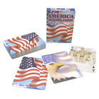 Bicycle Playing Crads American Flag Poker Size Standard Index 1 Pack Deck