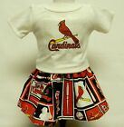 St Louis Cardinals Outfit (1) For 18 Inch Americn Girl Doll