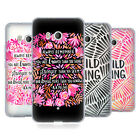 OFFICIAL CAT COQUILLETTE QUOTES TYPOGRAPHY 6 SOFT GEL CASE FOR HTC PHONES 1