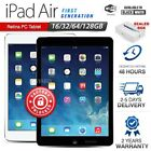 APPLE iPad Air 1st Gen Black White 16 32 64 128GB Retina PC Tablet (WiFi Only)