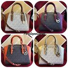 NWT MICHAEL KORS SIGNATURE CIARA MEDIUM MESSENGER BAG IN VARIOUS