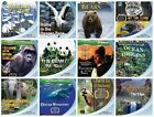 12 HD BLURAY LOT Bear,Panda,Ocean,Forest,Gorilla NATURE/ANIMAL PLANET/DISCOVERY