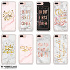 MARBLE ROSE GOLD INSPIRATIONAL QUOTES BLING GLAMOUR PHONE CASE FOR APPLE IPHONE