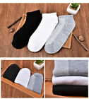 Men's Sports Socks Crew Short Ankle Low Casual Cotton Socks Mesh Breath Creative
