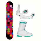 Sionyx Quilt Black L-1 Womens Complete Snowboard Package 2018