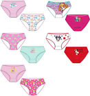 GIRLS+BRIEF+KNICKERS+PANTS+-+Cotton+-+Pack+of+2