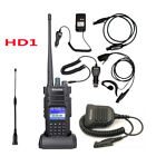 Ailunce HD1 GPS Walkie Talkie DMR DualBand Intercom Ham RadioTransceiver +Accs