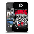 OFFICIAL ARSENAL FC 2017 THE EMIRATES FA CUP WINNERS BACK CASE FOR HTC PHONES 3