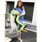 Fashionable Women's Outdoor Surfboard Thermal Bodysuit And Diving suit Wet Suit