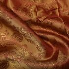Paisley Jacquard Dress Lining Fabric Polyviscose Upholstery Material