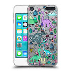 HEAD CASE DESIGNS PREHISTORIC PATTERNS SOFT GEL CASE FOR APPLE iPOD TOUCH MP3