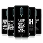 HEAD CASE DESIGNS SASSY QUOTES SOFT GEL CASE FOR AMAZON ASUS ONEPLUS