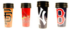 MLB Team 14oz Team Travel Tumbler Acrylic Coffee Mug Cup No Spill Lid image