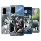 OFFICIAL ANNE STOKES WOLVES SOFT GEL CASE FOR SAMSUNG PHONES 1