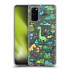 HEAD CASE DESIGNS PREHISTORIC PATTERNS SOFT GEL CASE FOR SAMSUNG PHONES 1