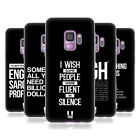 HEAD CASE DESIGNS SASSY QUOTES SOFT GEL CASE FOR SAMSUNG PHONES 1