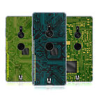 HEAD CASE DESIGNS CIRCUIT BOARDS SOFT GEL CASE FOR SONY PHONES 1