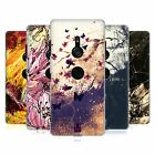 HEAD CASE DESIGNS FLORAL DRIPS HARD BACK CASE FOR SONY PHONES 1